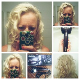 Esmeraldaa testen den Babyliss Curl Secret Lockendreher
